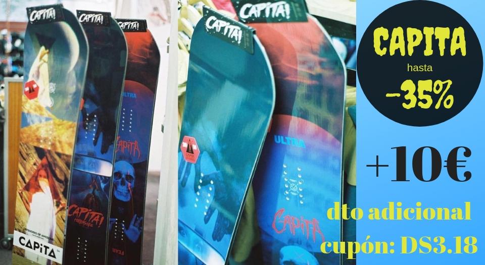 Tablas snowboard Capita