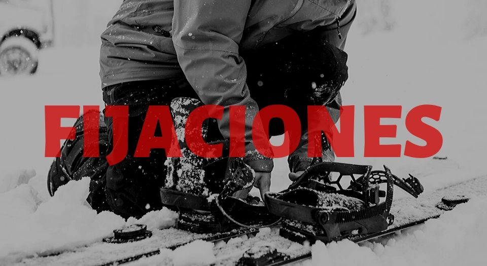 fijaciones snowboard