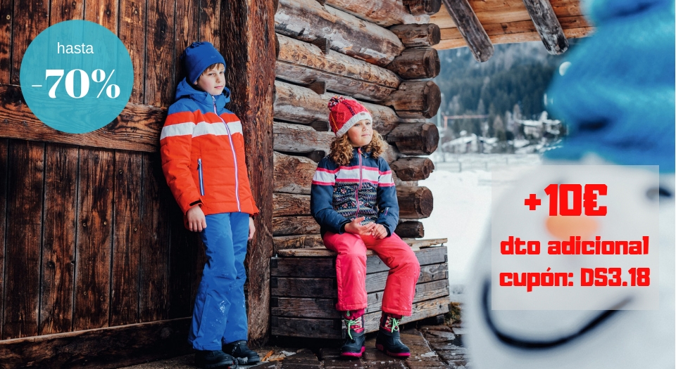 Niños y niñas snowboard