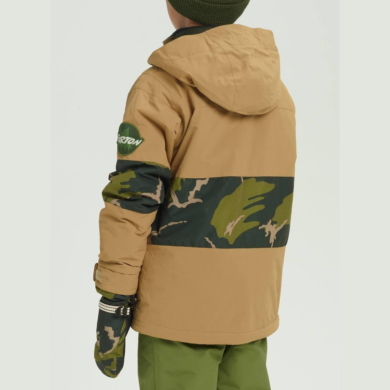 0a4626399ffe Display Gallery Item 1 · Chaqueta de snowboard Burton Boys Symbol Jacket  Kelp Mtn Camo-1 Display Gallery Item 2 ...