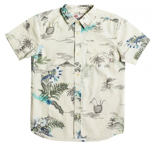 Camisa Quiksilver Channels Bruz Birch Channels Bruz