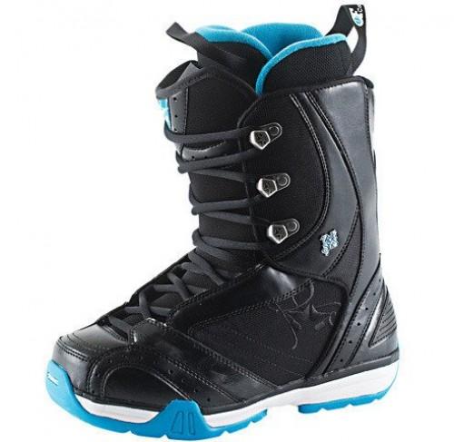Botas de snowboard Rome Memphis Black-Blue Wave