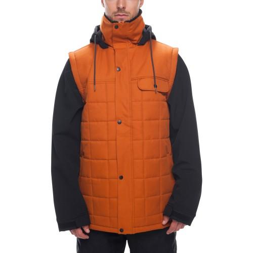 Chaqueta de snowboard 686 Bedwin Snow Insulated Jacket Copper Colorblock