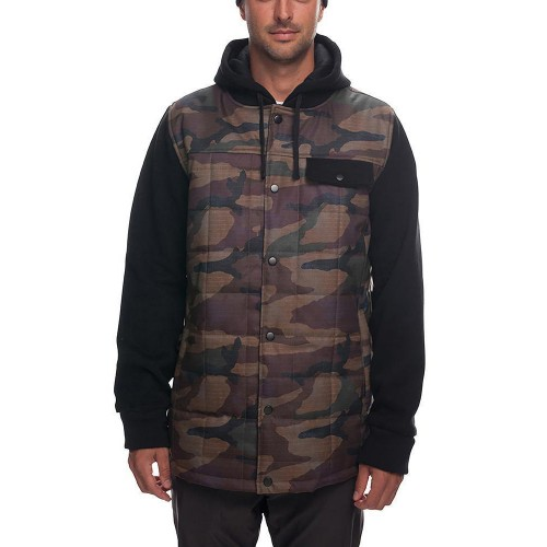 Chaqueta de snowboard 686 Bedwin Snow Insulated Jacket Dark Camo Colorblock