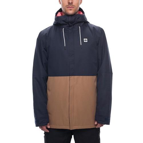 Chaqueta de snowboard 686 Foundation Insulated Jacket Navy Colorblock