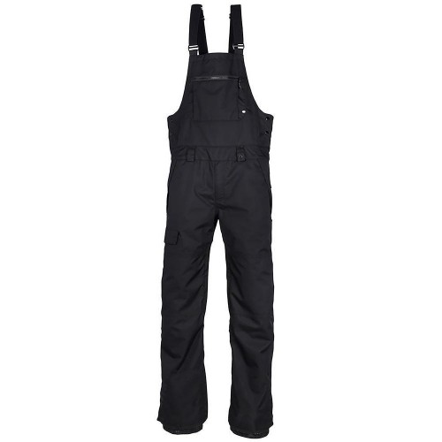 Pantalones de snowboard 686 Hot Lap Insulated Bib Black
