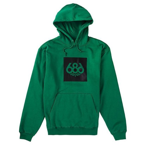 Sudadera 686 Knockout Pullover Hoody Kelly Green