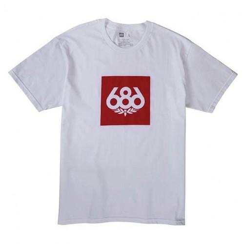 Camiseta 686 Knockout White