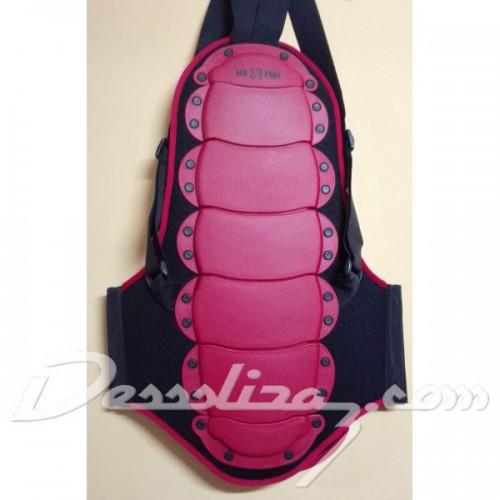 Protección de snowboard Airxpads Back NB-21 Red