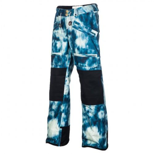 Pantalones de snowboard Analog Alder Pants Acid Wash Print