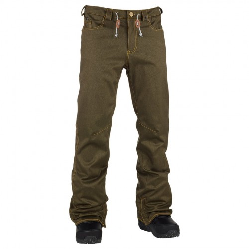 Pantalones de snowboard Analog Remer Pants Moss Green
