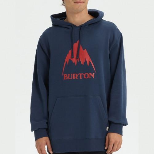 Burton Classic Mountain High Pullover Hoodie Mood Indigo