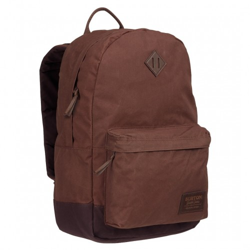 Burton Kettle Backpack Cocoa Brown Waxed Canvas