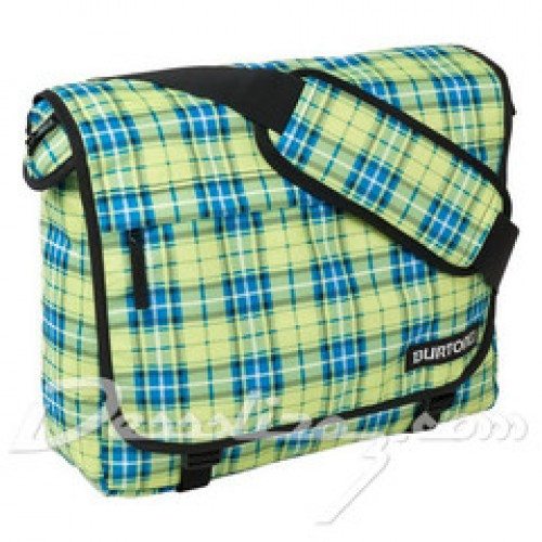 Bolsa Burton Synth Messenger Fw Gypsy Plaid