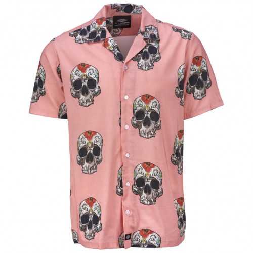 Camisa Dickies Blossvale Flamingo