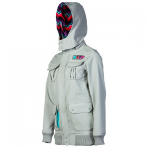Chaqueta de snowboard Neff Summit Softshell Jacket Grey