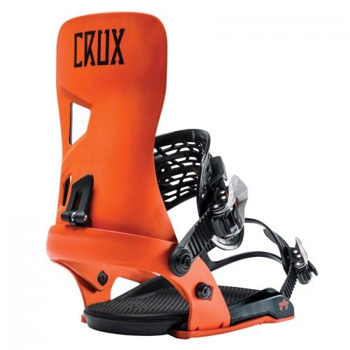 Fijaciones de snowboard Rome Crux Orange 2019