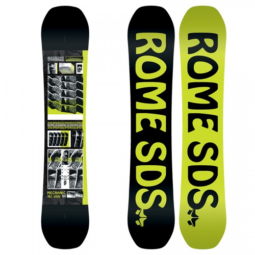Tabla de snowboard Rome Mechanic Wide 2020