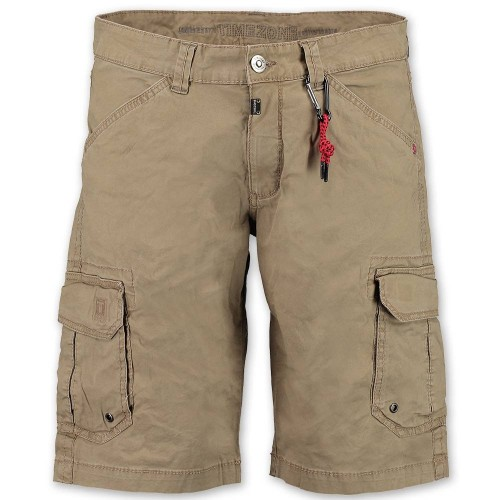 Bermudas Timezone Regular Rossi Dune Brown