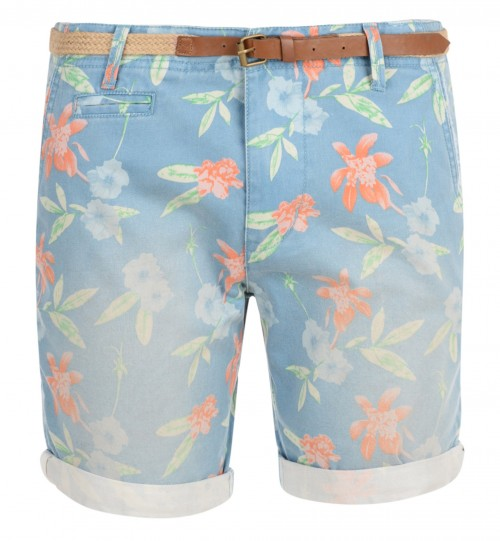 Bermudas Bellfield Carmines Powder Blue