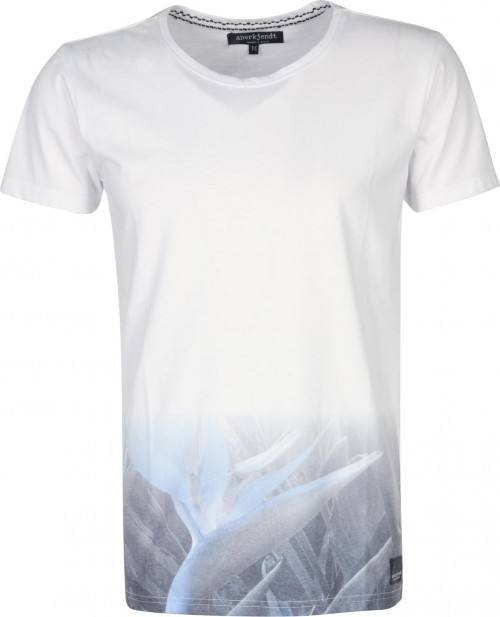 Camiseta Anerkjendt Thino White
