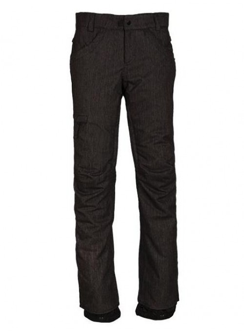 Pantalones de snowboard 686 Patron lnsulated Pants Black Denim