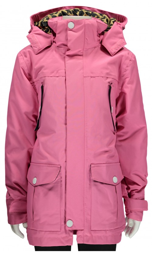 Chaqueta de snowboard Wear Colour Concrete Parka Bubblegum