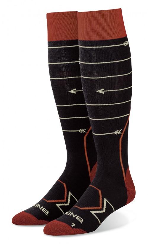 Calcetines de snowboard Dakine Thinline Black